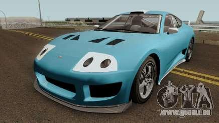 Dinka Jester Classic (r2) GTA V IVF für GTA San Andreas