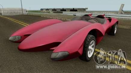 Declasse Scramjet Mach 5 v2 GTA V IVF pour GTA San Andreas