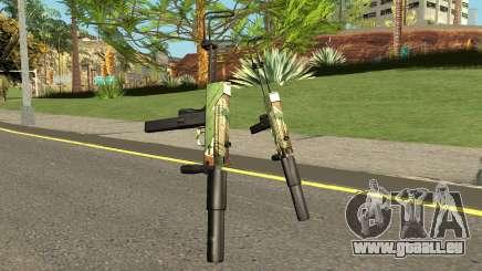 TEC9 Case Hardened für GTA San Andreas