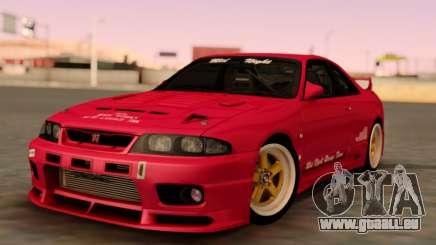 Nissan Skyline GT-R BCNR33 pour GTA San Andreas