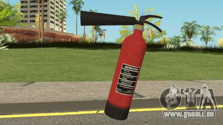 Fire Extinguisher HQ (With HD Original Icon) pour GTA San Andreas