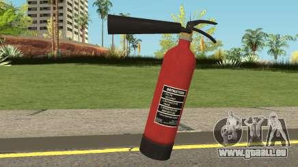 Fire Extinguisher HQ (With HD Original Icon) für GTA San Andreas