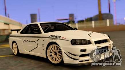 Nissan Skyline R34 Leks für GTA San Andreas