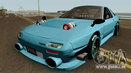 Deuces Mazda RX-7 Savanna FC3S pour GTA San Andreas