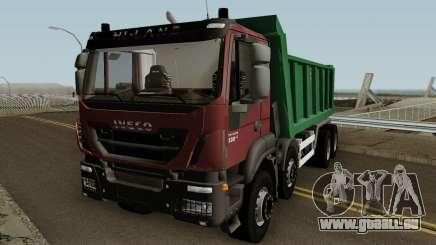 Iveco Trakker Dumper 8x4 pour GTA San Andreas