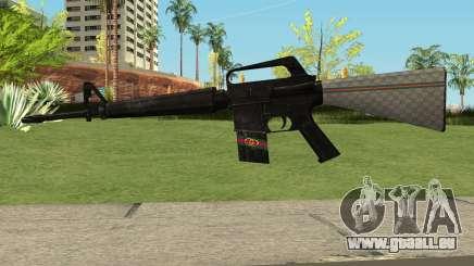 M4 Gucci pour GTA San Andreas