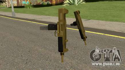 Gold UZI From GTA IV TBOGT pour GTA San Andreas