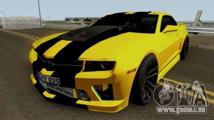 Mygarage Chevrolet Camaro SS de la Construction (Izmir auto) pour GTA San Andreas