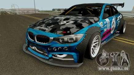 BMW M4 F82 Storm pour GTA San Andreas