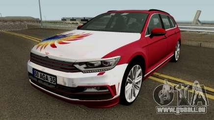 Volkswagen break B8 MEY Construction (Izmir-Mer) pour GTA San Andreas