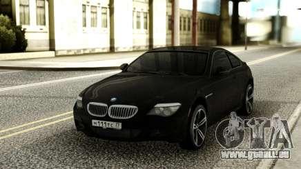 BMW M6 Black für GTA San Andreas