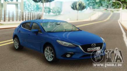 Mazda 3 Blue pour GTA San Andreas
