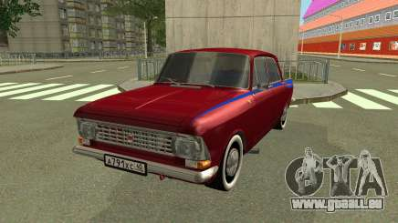 AZLK 412 Restyling pour GTA San Andreas