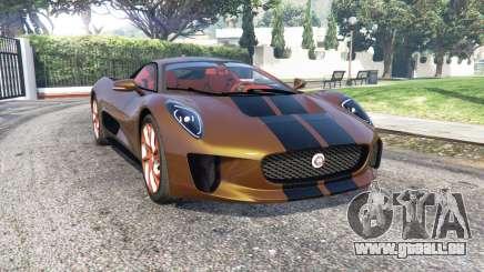 Jaguar C-X75 2015 [add-on] pour GTA 5