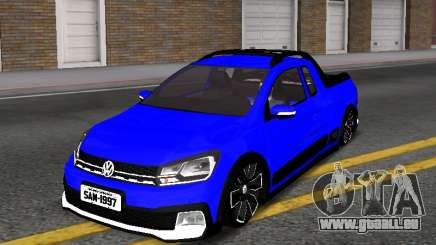 Volkswagen Saveiro Cross G7 with Sound pour GTA San Andreas