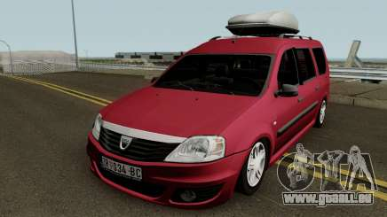 Dacia Logan MCV Facelift 2010 für GTA San Andreas