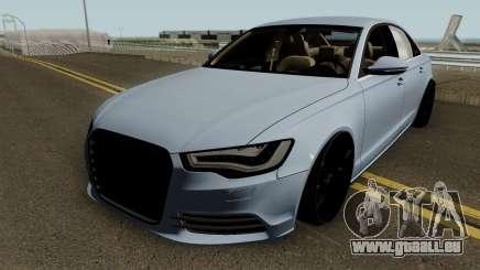 Audi A6 2012 HQ für GTA San Andreas