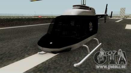 Helikopter Polskiej Policji für GTA San Andreas