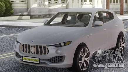 Maserati Levante White pour GTA San Andreas