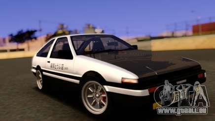 Toyota Corolla AE86 Trueno für GTA San Andreas