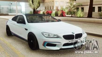 BMW M6 Coupe White pour GTA San Andreas