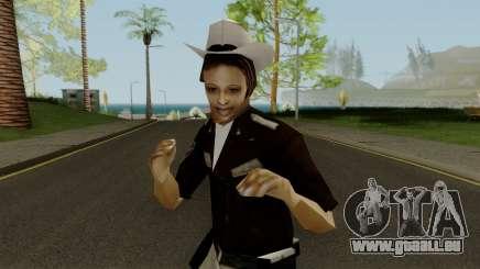 Cop Girl pour GTA San Andreas