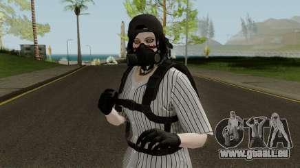 Skin GTA V Online (Normalmap) 1 pour GTA San Andreas