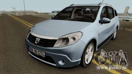 Dacia Sandero Grandtour für GTA San Andreas