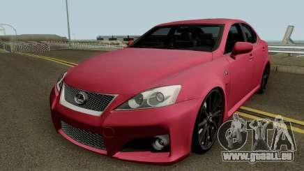 Lexus IS-F 2011 für GTA San Andreas