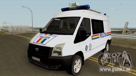 Ford Transit - Politia Romana pour GTA San Andreas