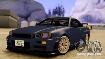 Nissan Skyline R34 GODZILLA für GTA San Andreas