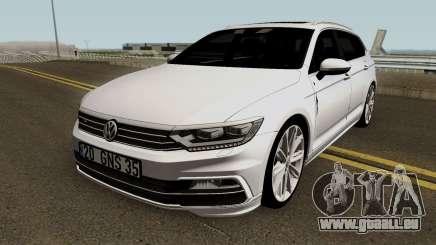 Volkswagen Passat Variant B8 2016 für GTA San Andreas