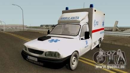 Dacia Papuc Ambulanta 2002 für GTA San Andreas