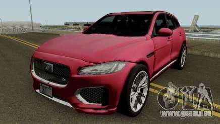 Jaguar F-Pace HQ pour GTA San Andreas