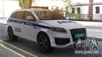 Audi Q7 Police pour GTA San Andreas