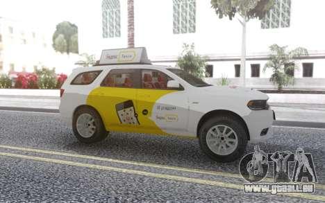 Dodge Durango SRT Yandex Taxi pour GTA San Andreas