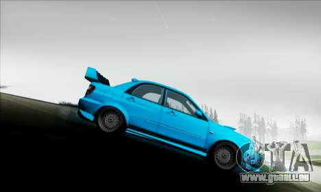 Subaru Impreza WRX STI 2003 LPcars pour GTA San Andreas vue de côté