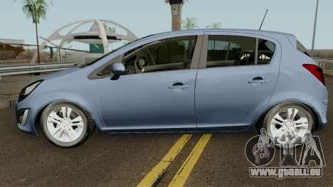 Opel (Vauxhall) Corsa D Phase 2 V1 für GTA San Andreas