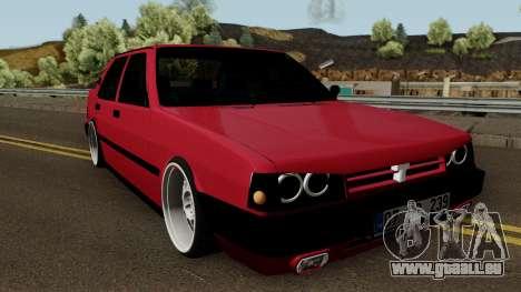 Tofas Dogan SLX für GTA San Andreas Innenansicht