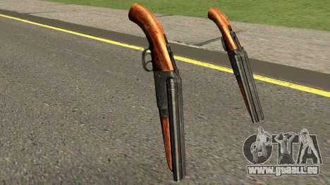 New Sawed-Off Shotgun HQ pour GTA San Andreas