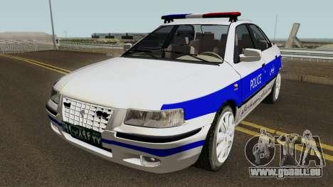 IKCO Samand Police LX v3 für GTA San Andreas