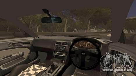 Nissan Silvia S14 Nismo 270R für GTA San Andreas zurück linke Ansicht