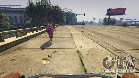 GTA 5 Cj Pensioner (Monday) 1.0 quatrième capture d'écran
