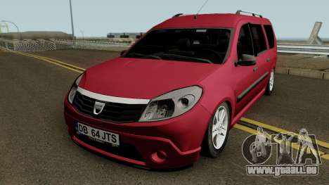 Dacia Grand Sandero für GTA San Andreas