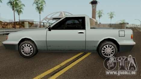 Manana Pickup für GTA San Andreas linke Ansicht