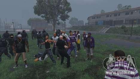 GTA 5 30 SWAT VS 60 Gangsters 1.0 sixième capture d'écran
