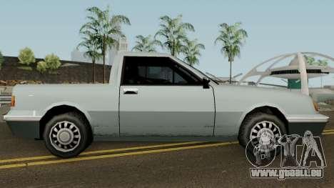 Manana Pickup für GTA San Andreas Rückansicht