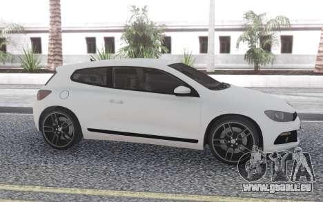 Volkswagen Scirocco 2.OTSI pour GTA San Andreas laissé vue