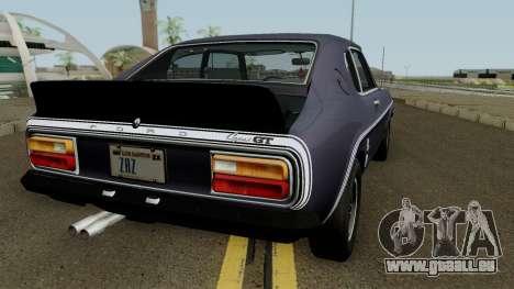 Ford Capri RS 3100 1973 pour GTA San Andreas vue de droite