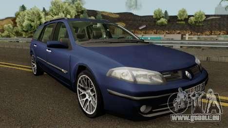 Renault Laguna Mk2 SW Facelift für GTA San Andreas Innenansicht